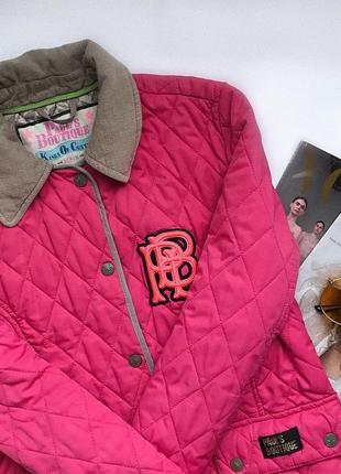 Стьогана рожева малинова куртка бомбер   курточка бомбер xs косуха женская украина