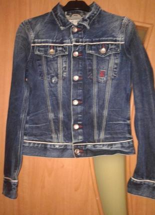 Итальянская джинсовая куртка freesoul.