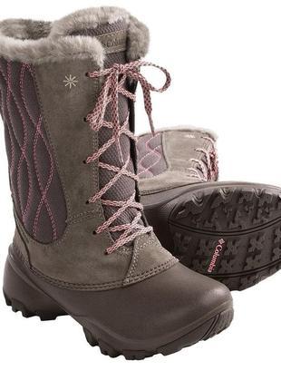 Нові зимові чоботи columbia р.32 або 1youth. оригінал. коламбия сапоги