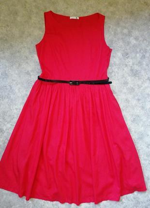Великолепное коттоновое платье
