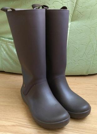 Резиновые сапоги crocs rainfloe boot, w9
