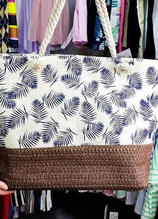 Пляжная сумка. летняя сумка. хит этого лета.