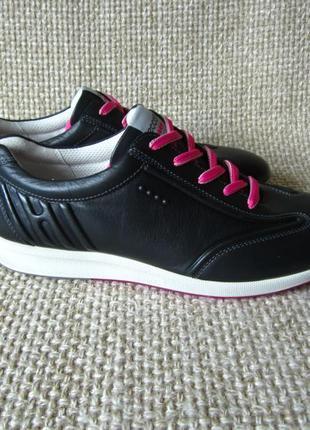 Кросівки шкіра нові оригінал ecco street golf 120613 розмір 41,42