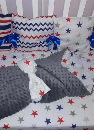 Бортики в кроватку,защита в кроватку,бортики в кровать,защита