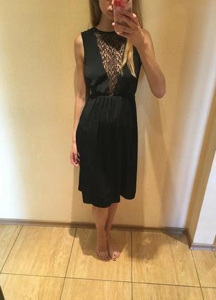 Вечернее платье asos с кружевной спинкой