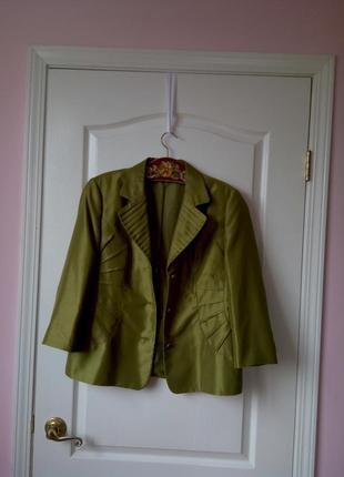 Изумрудный пиджак