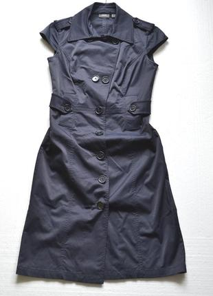 Платье mexx темно синее деловое строгое