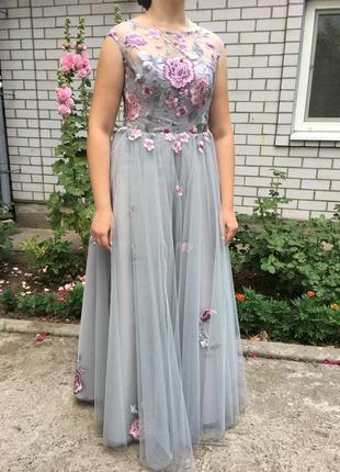 Выпускное, вечернее, бальное платье, коллекция 2018 год