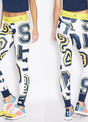 Adidas stella mccartney stellasport l 48-50 леггинсы лосины с манжетами