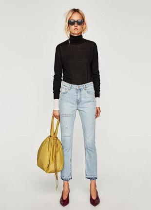 Новенькие крутые джинсы zara