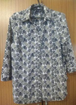 Хлопковая рубашка   сecil . m-l
