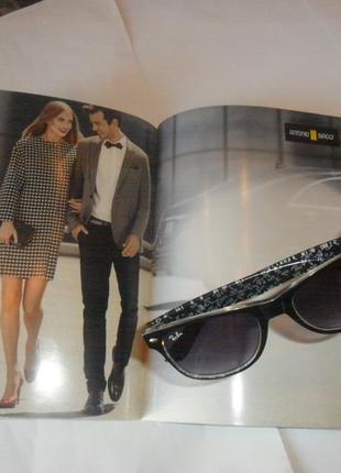 Винтажные очки с прозрачной дужкой внутри вне времени стиль минимализм актуальность