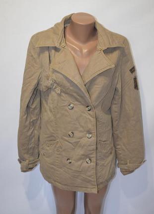 Куртка тренч милитари от formula goven