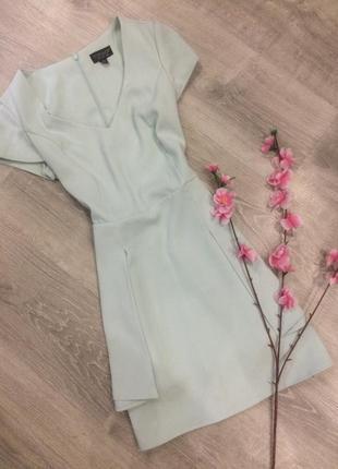 Мятное платье topshop 1+1=3 при покупке 2-х вещей третья в подарок