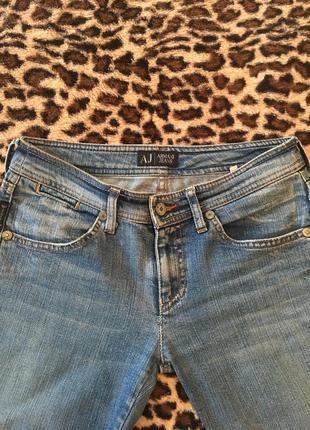 Джинсы клёш armani jeans