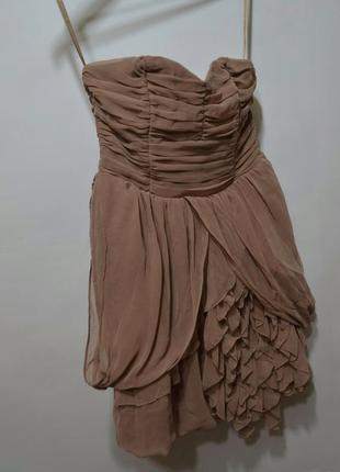 Коктейльное платье миди h&m