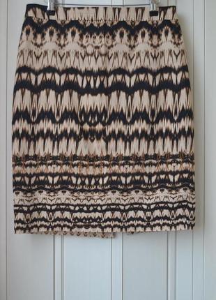 Marks & spencer # стильная юбка # деловая юбка # юбка с узором