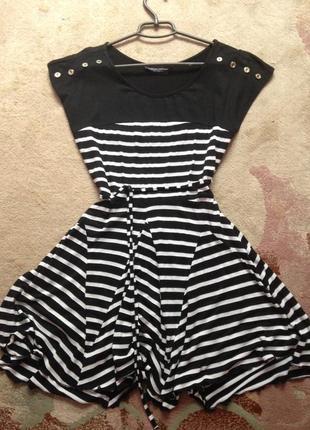 Платье в полоску. плаття в полоску