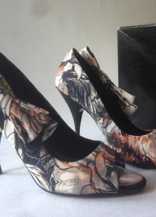 Шикарные туфли karen millen и клатч