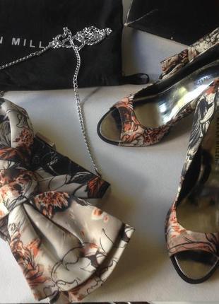 Шикарные туфли karen millen и клатч3 фото