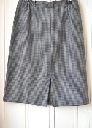 Юбка в клеточку # стильная юбка # офисная юбка #