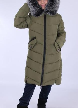 Кико пальто зимнее для девочки kiko 4500