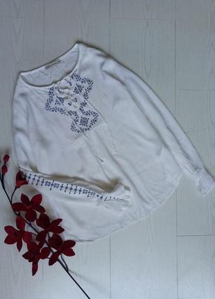 Блузка с вышивкой/вышиванка lc waikiki