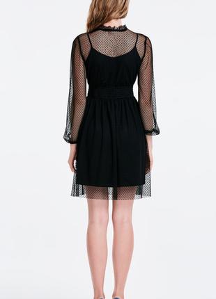 Кружевное черное платье musthave2 фото