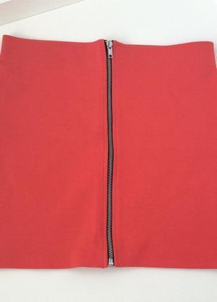 Сексуальная стильная красная обтягивающая юбка h&m