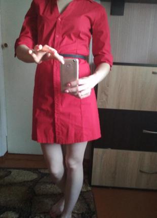 Платье -рубашка mango размер s