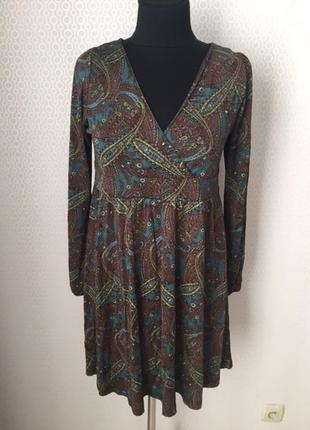 Оригинальная туника платье большого размера (евр 44, укр 50) от h&m