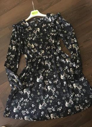 Платье сарафан- в цветочный принт бренд vila clothes