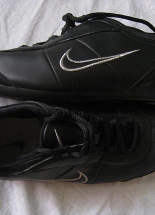 Фирменные кожаные кроссовки nike, оригинал!