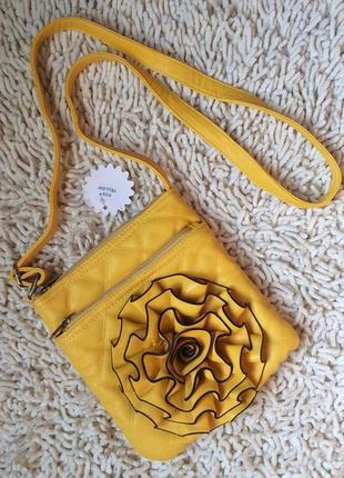 Яркая стеганая сумочка супер цена!!!