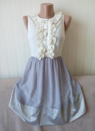 Платье летнее, нежное и воздушное