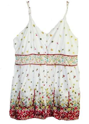 Блуза-топ р 20 с карманами