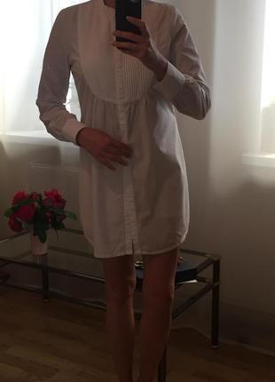 Шикарное платье-рубашка voe размер м/л