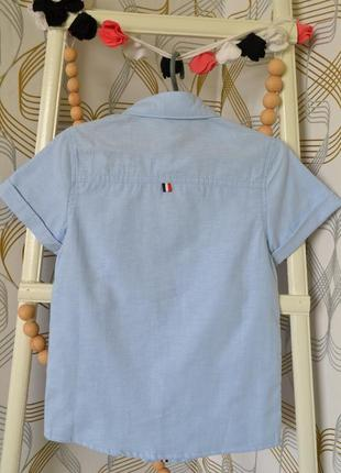 Рубашка с коротким рукавом на мальчика 14-16 лет3 фото