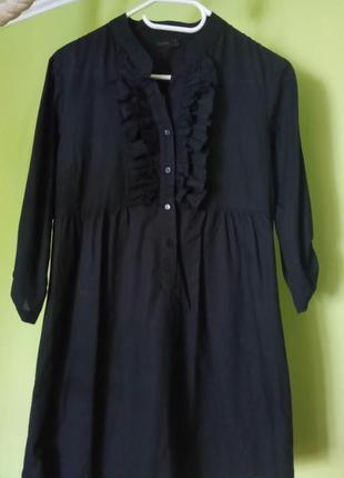 Легкое платье-рубашка