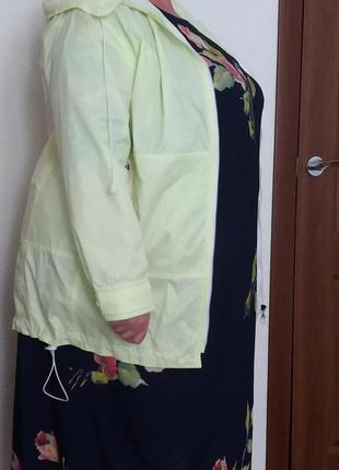 Стильная куртка ветровка easy comfort