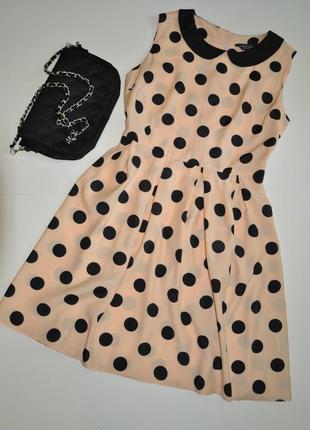 Платье в горох dorothy perkins