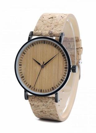 Мужские часы из дерева бамбук