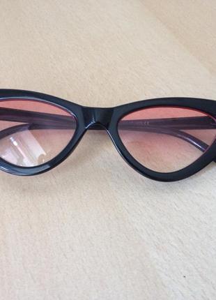 Очки в цвете черный (розовый)