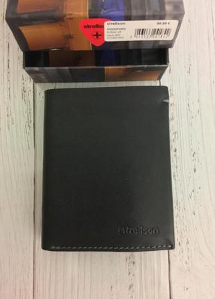 Кожаный кошелёк портмоне strellson