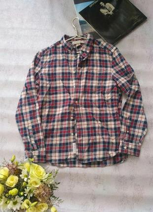 Мужская клетчатая рубашка от h&m
