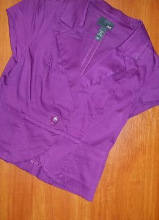 H&m , пиджак с коротким рукавом
