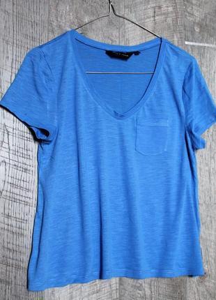 Синяя футболка от new look