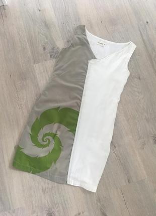 Оригинальное платье из 100% хлопка испания