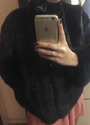Женская норковая шуба ,полушубок автоледи