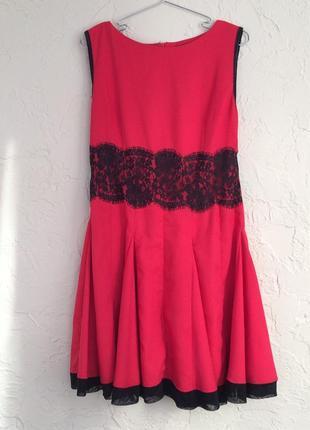 Новое красное платье ax paris